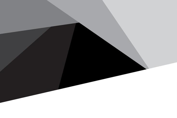 Vecteur de conception graphique abstrait triangle pour la présentation. Concept de fond et abstrait. Idée de forme d'obturateur