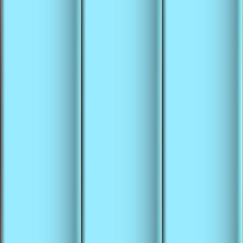 Naadloze realistische blauwe betegelde dakbladachtergrond. 3D-illustratievector