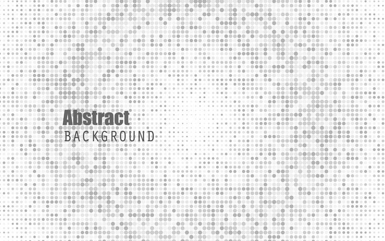 Fondo de semitono de color blanco abstracto. Negro y gris oscuro. Fondo de diseño moderno para la plantilla de presentación de informe y proyecto. Ilustración vectorial gráfico. vector