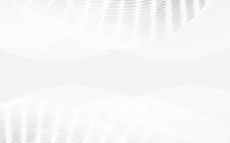 Vector abstracto blanco del fondo. Resumen gris. Fondo de diseño moderno para la plantilla de presentación de informe y proyecto. Ilustración vectorial gráfico. Forma futurista y circular.