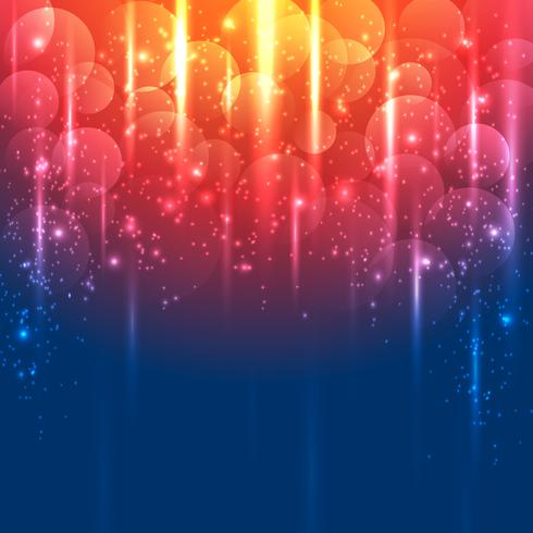 Light Gold and blue abstract vector background
