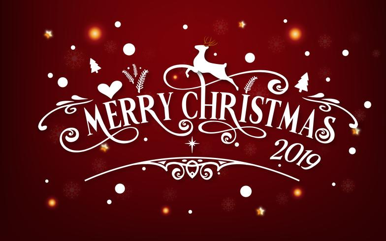 Christmas Graphics 2019.Merry Christmas Day 2019 Happy New Year And Xmas Festival