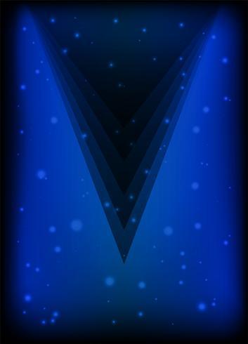 Blauer Plakatauszugshintergrund