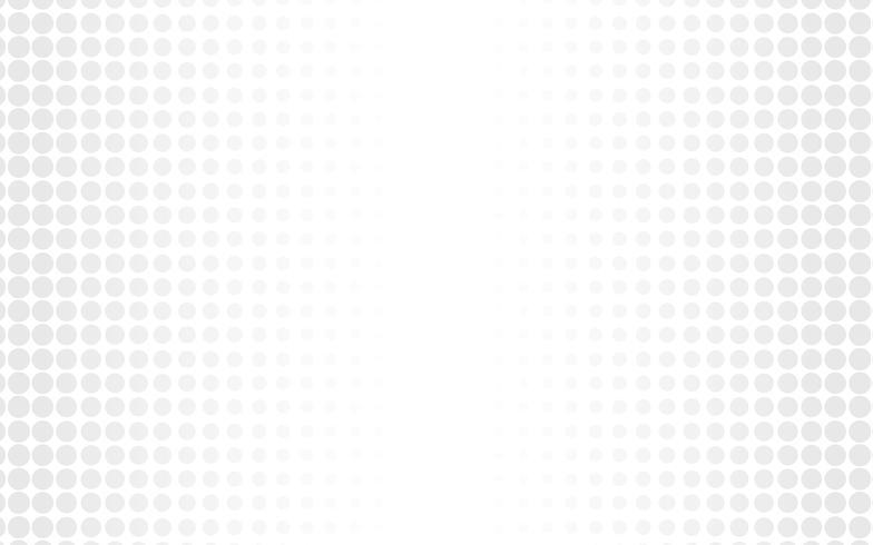 Vecteur de fond abstrait blanc Résumé gris. Contexte de conception moderne pour le modèle de présentation de rapport et de projet. Illustration vectorielle Dot et forme circulaire. présent produit publicitaire