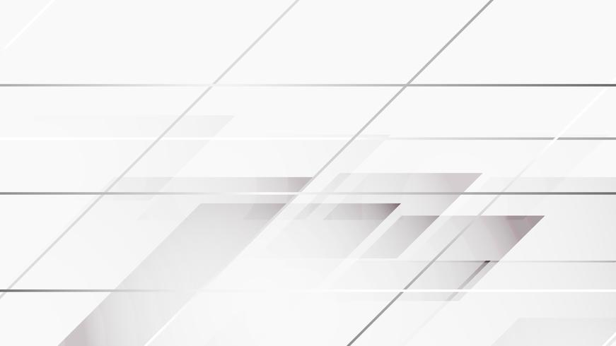 Vit abstrakt bakgrund vektor. Grå abstrakt. Modern design bakgrund för rapport och projekt presentation mall. Vektor illustration grafik. Futuristisk och cirkulär kurva form
