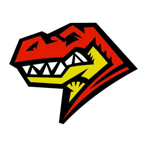 Tiranossauro Rex do dinossauro, desenhos animados de T-Rex