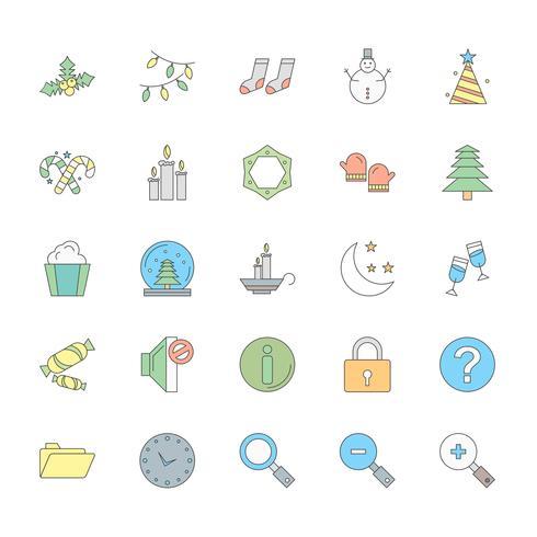 25 set di icone universali