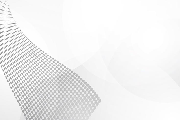 Vector abstracto blanco del fondo. Resumen gris. Fondo de diseño moderno para la plantilla de presentación de informe y proyecto. Ilustración vectorial gráfico. Punto y forma circular. producto publicitario presente
