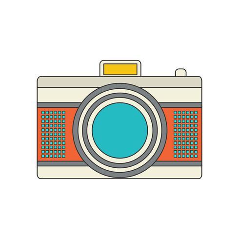 Camera Icon for your project in retro color