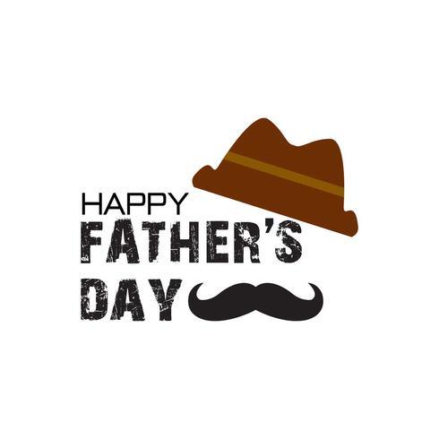 Lycklig fader dag illustration