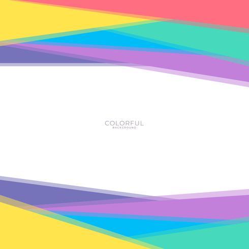 Creatieve geometrische kleurrijke heldere achtergrond