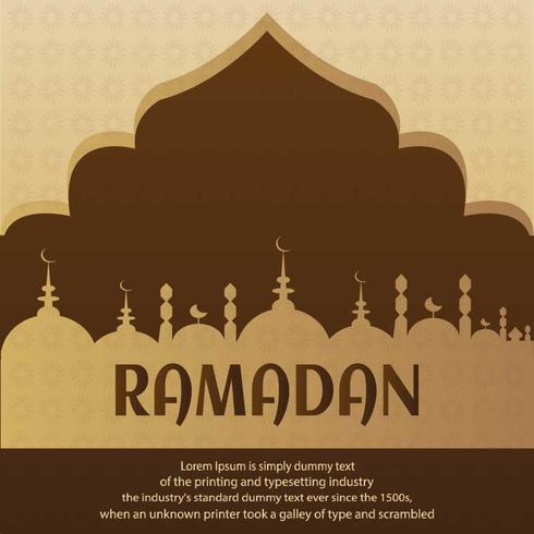 Ramadan Illustration for your project