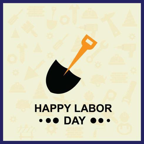 Labor Day Illustration för ditt projekt