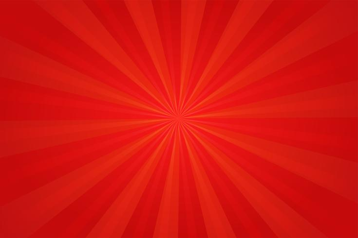 Sfondo rosso fumetto comico. Disegno dell'illustrazione di vettore