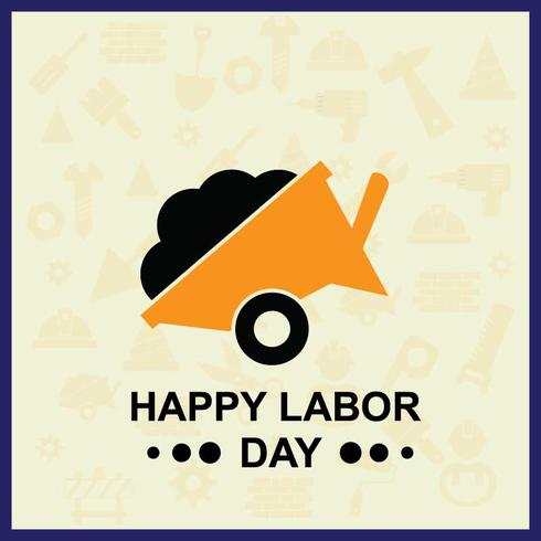 Illustrazione del Labor Day per il tuo progetto