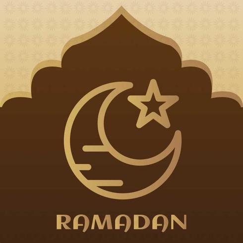 Ramadan-pictogram voor uw project