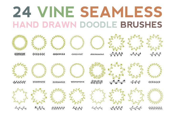 Vine Seamless Brush
