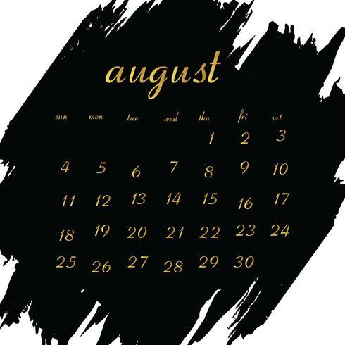 Calendário 2019 para o seu projeto