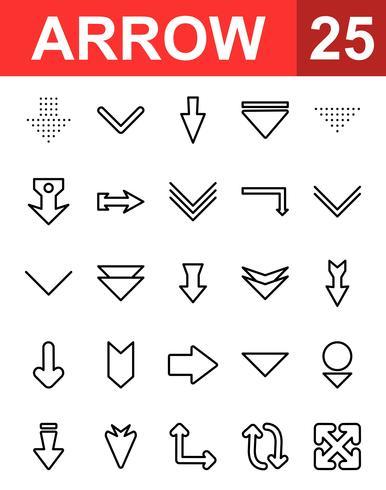 25 Pfeilsymbol