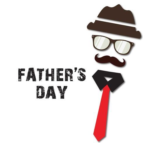 Heureuse fête des pères Illustration