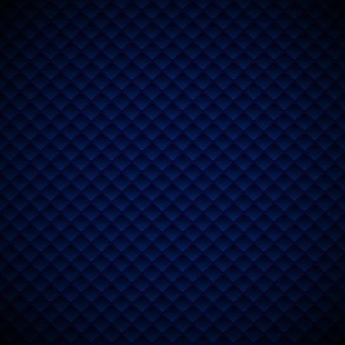 Abstract het patroonontwerp van luxe blauw geometrisch vierkanten op donkere achtergrond.