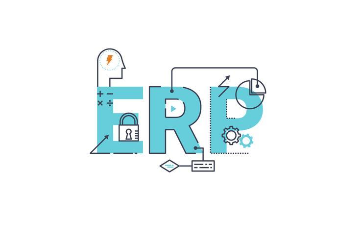 Enterprise resource planning vector