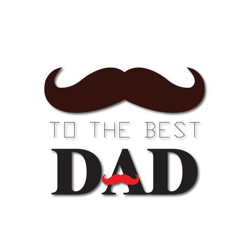 Glücklicher Vatertag Illustration