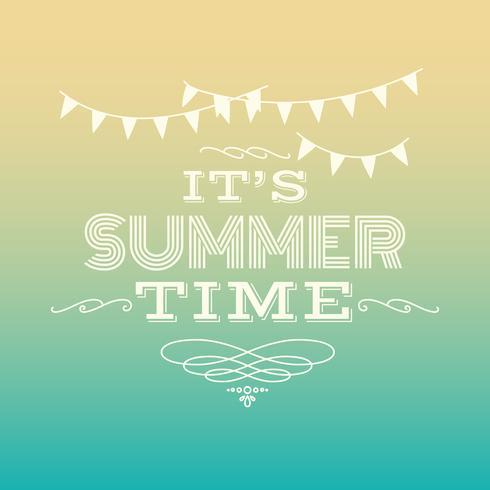 es ist Sommer