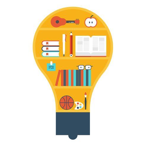 Illustration de la bibliothèque d'ampoules