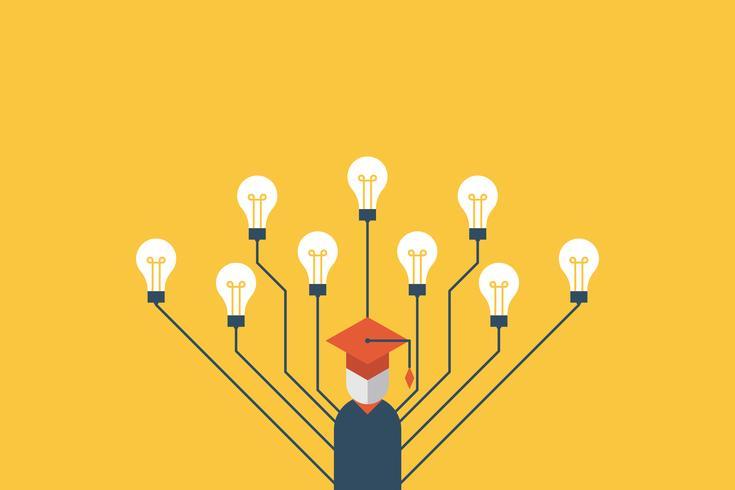 Education concept illustration