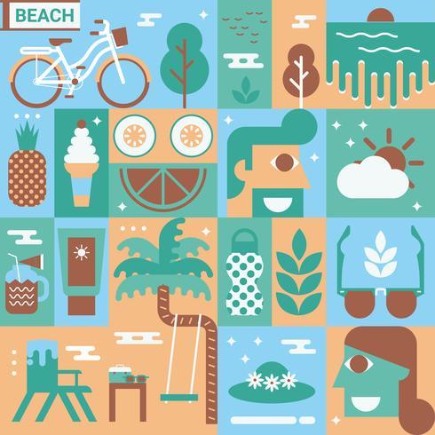 Strand-Konzept