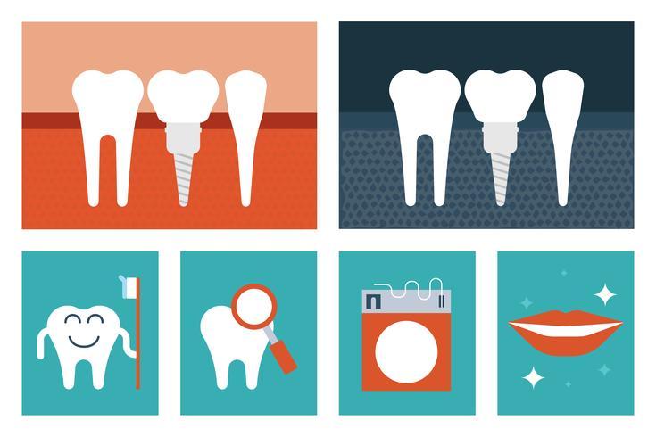 Concepto de cuidado dental