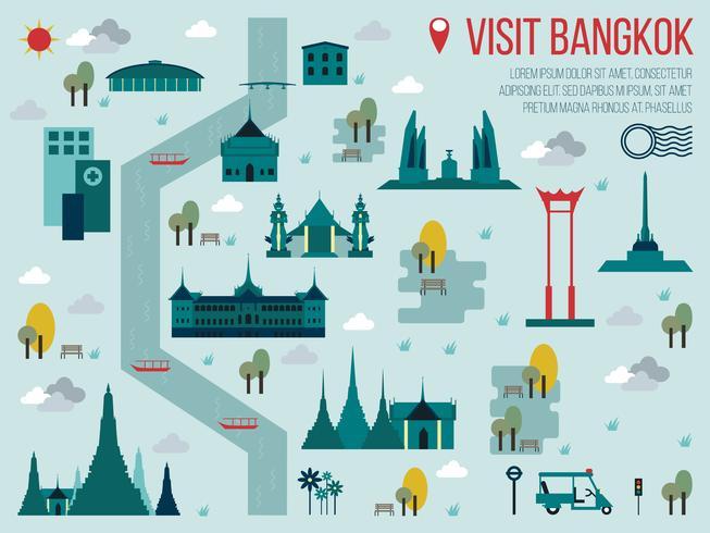 Besuchen Sie Bangkok