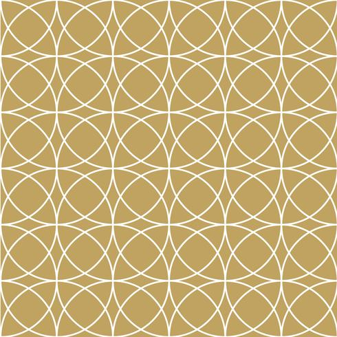 Elegan Gouden cirkelpatroon