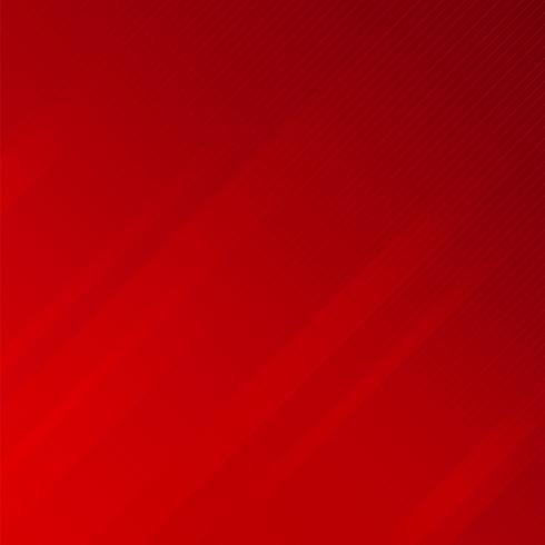 Le linee oblique delle bande astratte strutturano il fondo rosso.