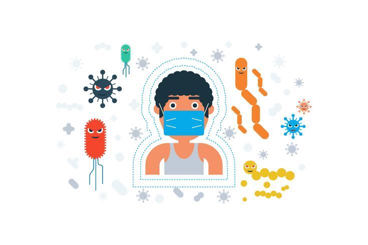 Conceito de higiene pessoal vetor