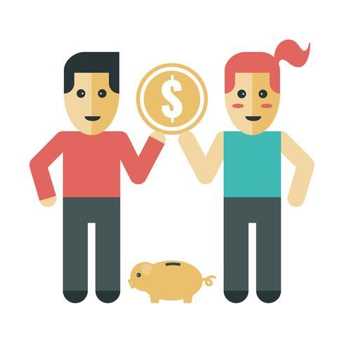 Couple d'économie