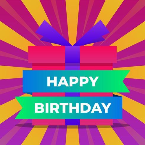Happy Birthday Greeting Cards Design