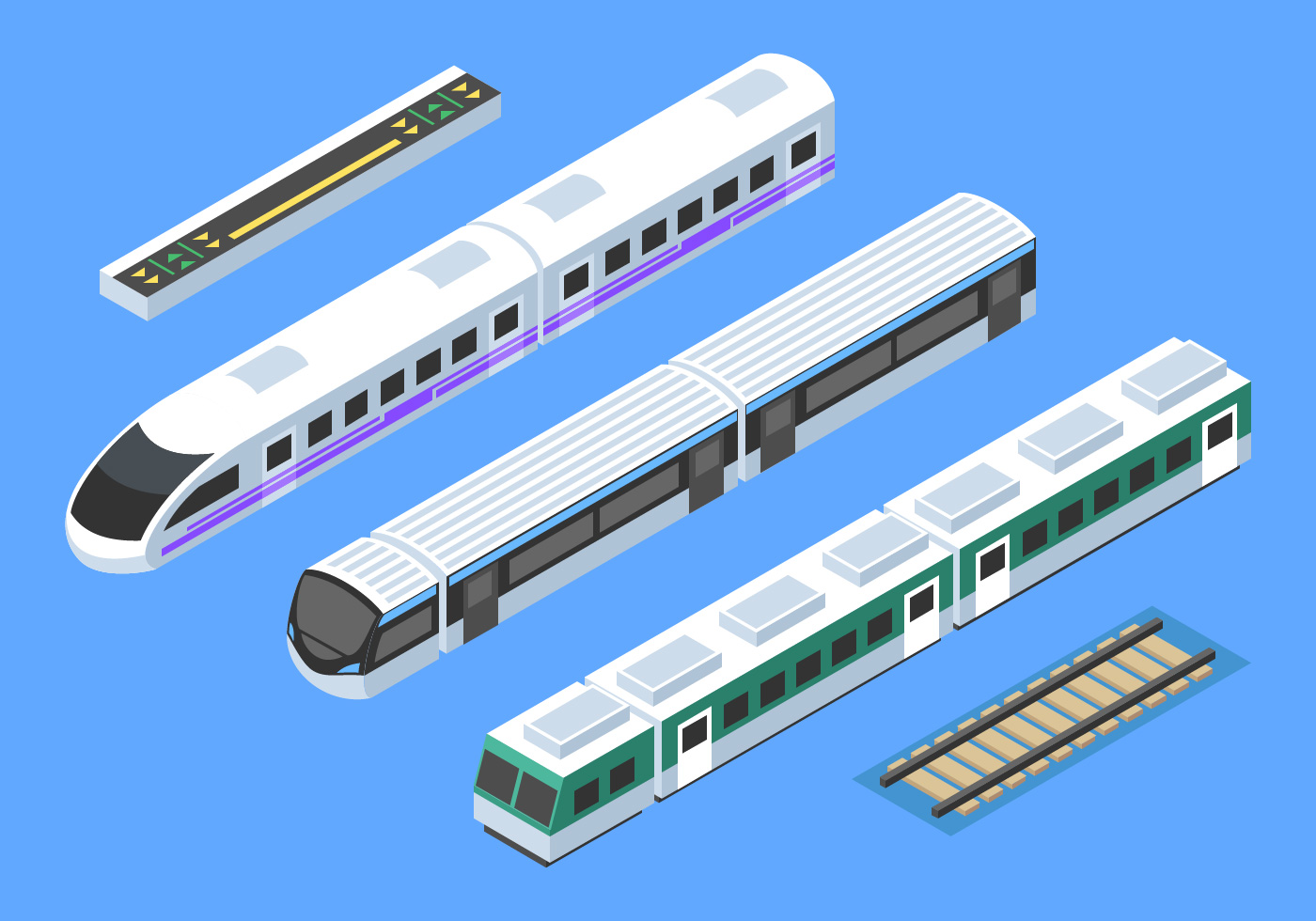 Game Gift Kids Train Vector Travel Railroad Transportation Toy Locomotive  Illustration, Shipping, Set, Sign PNG and Vector with Transparent  Background for Free Download