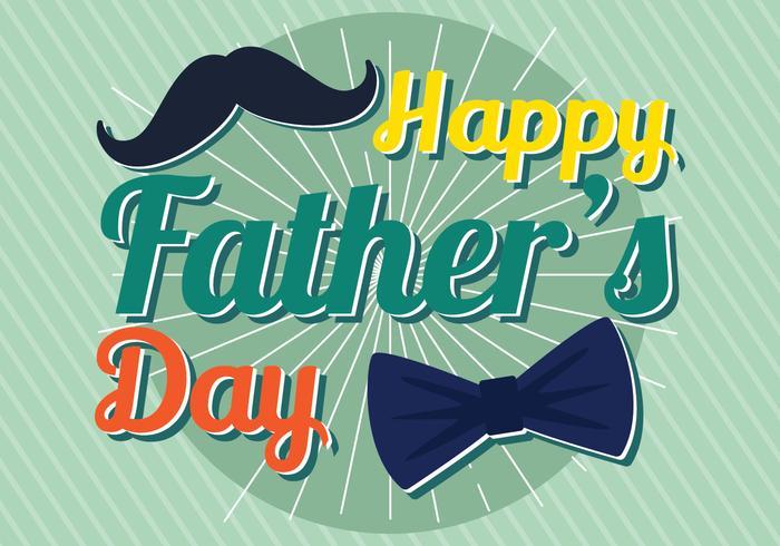 Feliz Día del Padre vector