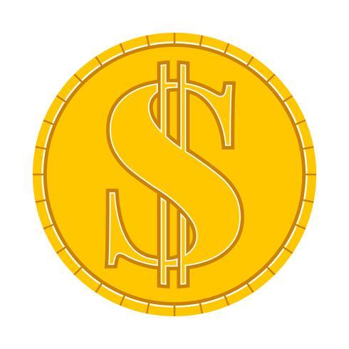 Money Coin Vector Icon