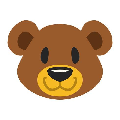 Gullig nallebjörn