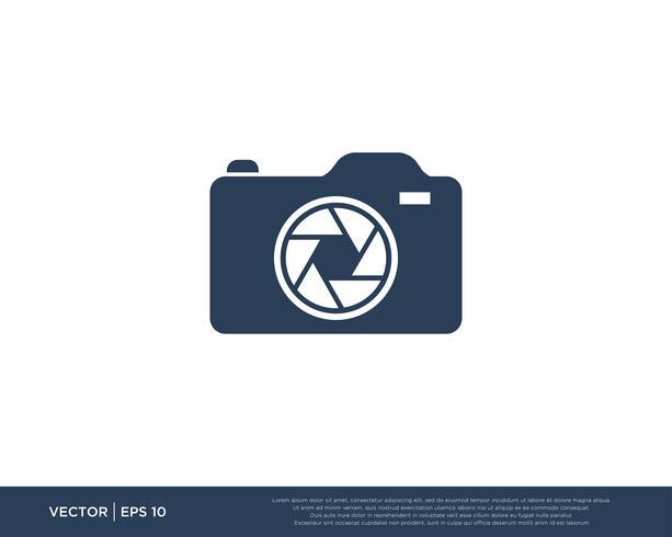 Kamerafönster Logotyp Vektor
