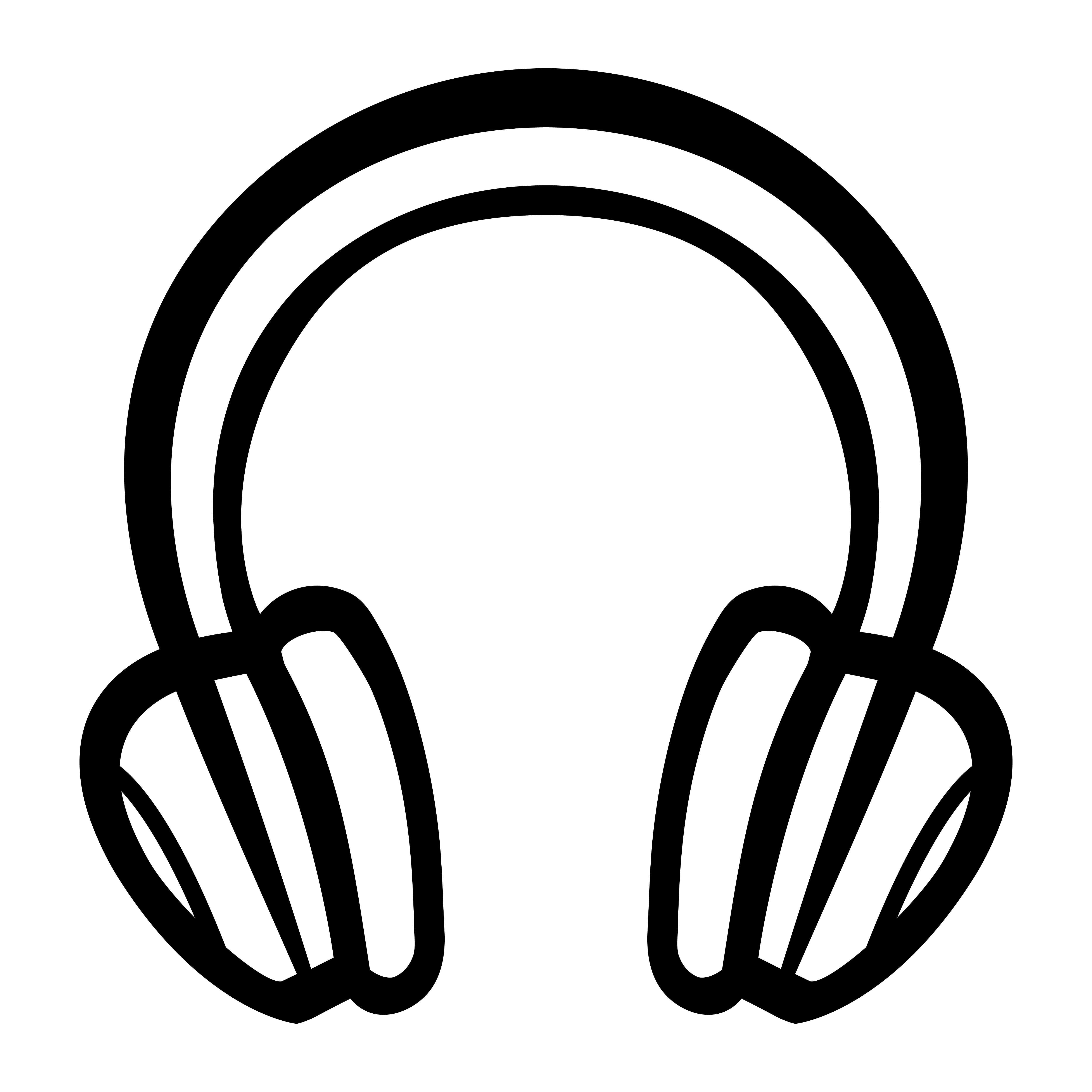 Kopfhörer Gezeichnet