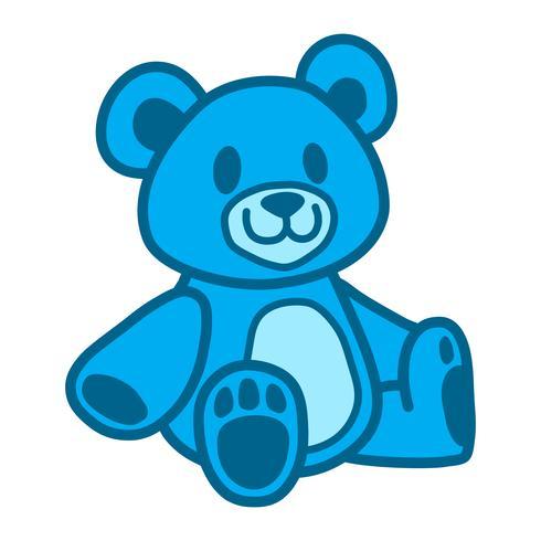 Leuke teddybeer vector