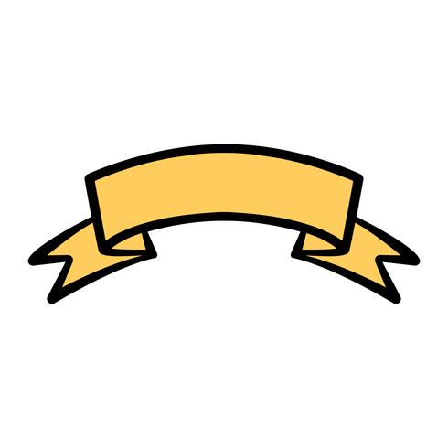 Banner vector icon