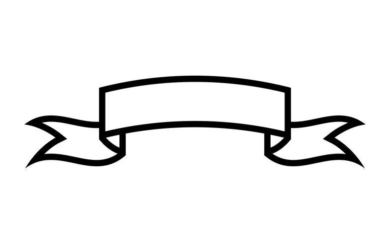 Banner vector icono
