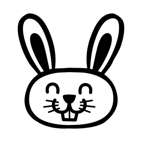 Gráfico de coelho de coelho dos desenhos animados