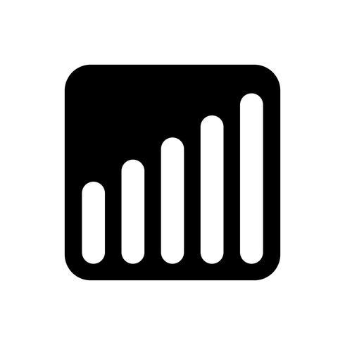 Balkendiagramm Vektor Icon