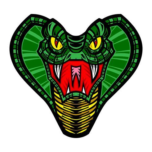 Cobra mortal cobra ilustração